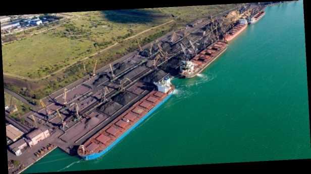 УЗ будет терять по 500 млн грн в месяц из-за остановки перевалки руды в порту »Южный»
