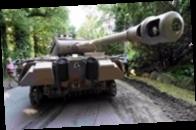 В Германии пенсионер хранил в подвале зенитную установку и нацистский танк