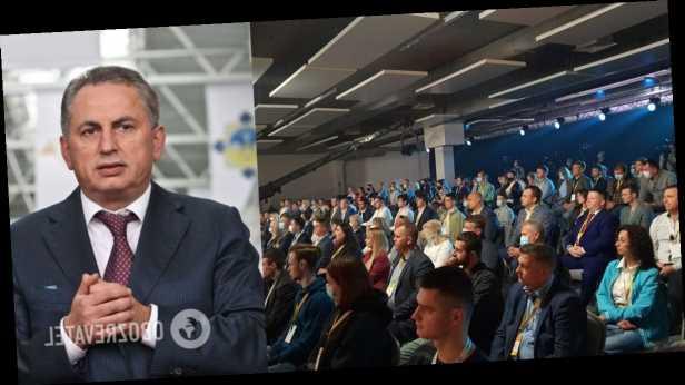 В Киеве состоялся первый съезд партии Колесникова »УКРАИНА – НАШ ДОМ»