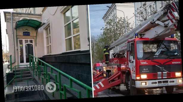 В Москве горела гостиница: в огне пострадали дети, есть погибшие. Видео