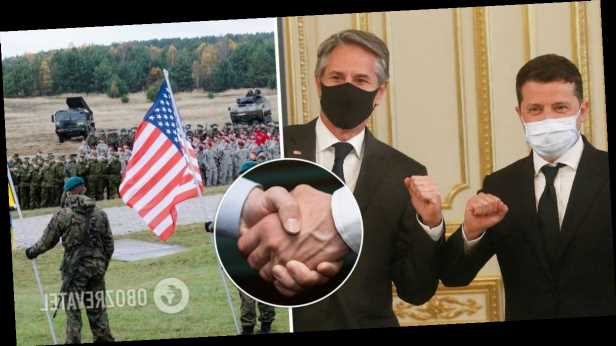 В »Слуге народа» сказали, чего ждут от США после визита Блинкена