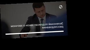 Зеленский подписал закон о заочном расследовании