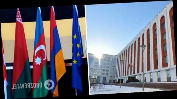 Беларусь в ответ на санкции ЕС приостановила участие в »Восточном партнерстве»