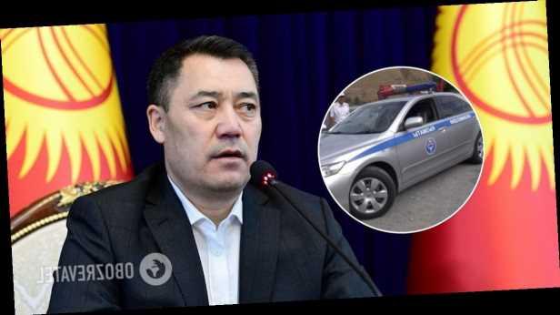 Кортеж президента Кыргызстана попал в смертельное ДТП