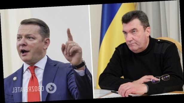 Ляшко эмоционально поспорил с Даниловым: секретарь СНБО послал его есть сено в Раду