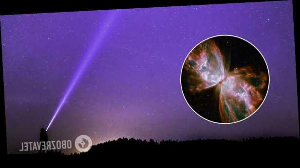 NASA показало туманность »Бабочка» в созвездии Скорпиона. Фото