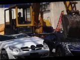 На Филиппинах таможенники уничтожили контрабандные автомобили премиум-класса на $ 58 млн. Видео »казни» машин