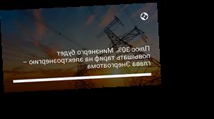 Плюс 30%. Минэнерго будет повышать тариф на электроэнергию – глава Энергоатома