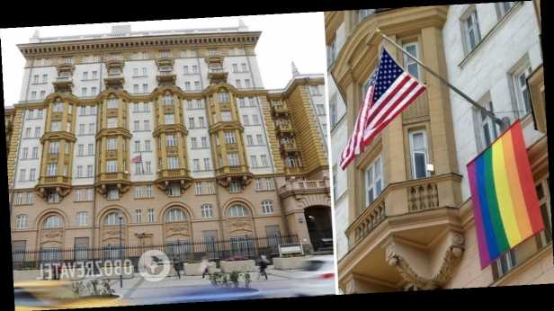 Посольство США в Москве вывесило флаг ЛГБТ: заявление дипломатов разозлило россиян