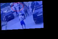 Появилось видео момента расстрела приставов в РФ