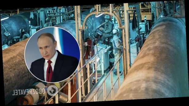 Путин заявил о завершении укладки труб первой нитки »Северного потока 2»