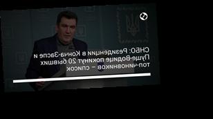 СНБО: Резиденции в Конча-Заспе и Пуще-Водице покинут 20 бывших топ-чиновников – список