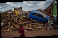 Смертоносный торнадо в Чехии. Фоторепортаж