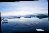 В Арктике растаял рекордно большой ледник