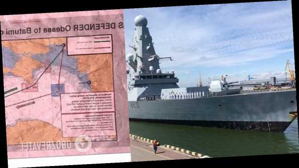 В Британии нашли »засекреченные» документы о проходе эсминца Defender у Крыма, – СМИ