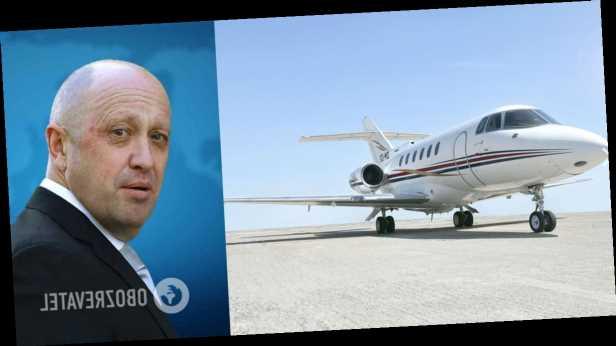 В Германии замечен самолет »повара» Путина, который находится под санкциями – BILD
