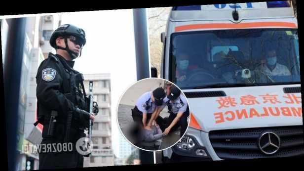 В Китае мужчина напал с ножом на прохожих: много убитых и раненых. Фото с места ЧП