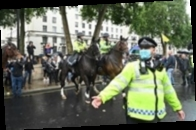 В Лондоне протестовали коронаскептики