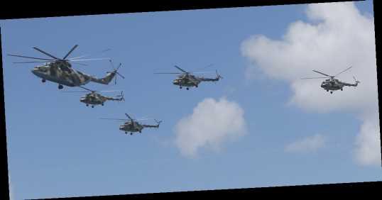 В России разбился военный вертолет Ми-8, трое погибших