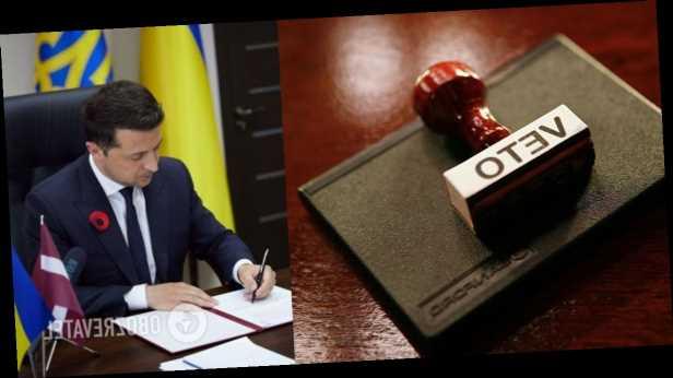 Зеленский ветировал закон об институте старост из-за КСУ