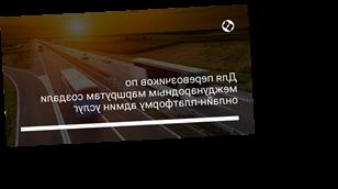 Для перевозчиков по международным маршрутам создали онлайн-платформу админ услуг
