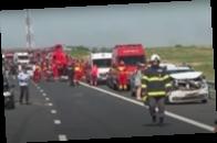 Масштабное ДТП в Румынии: столкнулись 55 авто