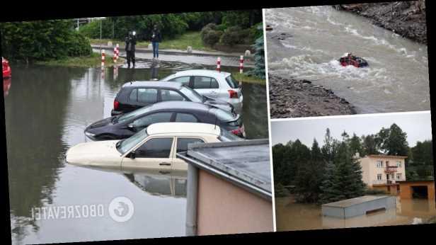 Наводнение в Польше: реки вышли из берегов, затоплены жилища. Видео