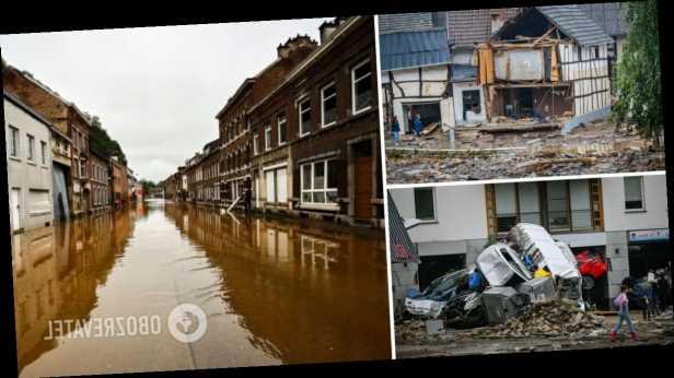 Наводнения в Германии и Бельгии унесли 170 жизней, непогода накрыла Австрию. Фото и видео