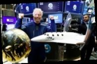 Полет миллиардера Ричарда Брэнсона в космос перенесли