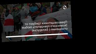 Правозащитники требуют от Зеленского прекратить любые отношения с Беларусью