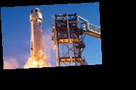 Ракета Безоса совершила успешный полет в космос
