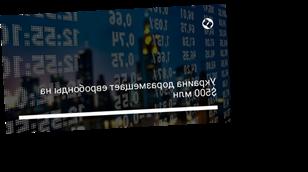 Украина доразмещает евробонды на $500 млн