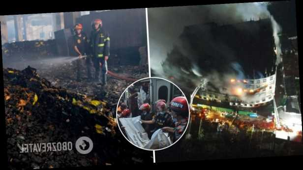 В Бангладеш загорелся завод, в пожаре погибли более 50 человек. Фото с места трагедии