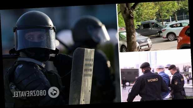 В Беларуси начались масштабные обыски у журналистов: силовики выломали двери и изъяли технику. Фото