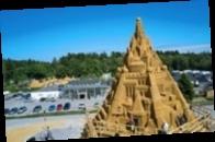 В Дании построили самый высокий в мире песочный замок