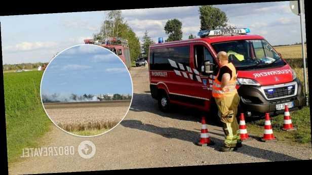 В Германии упал самолет с пассажирами, среди погибших подростки. Фото