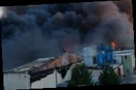 В Испании второй день горят склады с хамоном