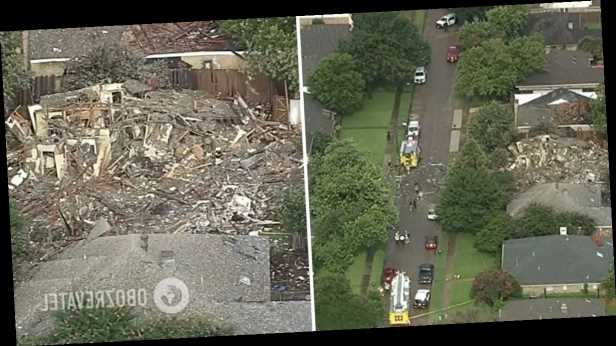 В США взрыв сровнял с землей жилой дом: много пострадавших. Фото и видео