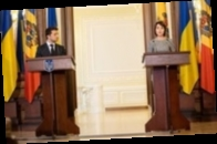 Зеленский и Додон поздравили Санду с победой на выборах в Молдове
