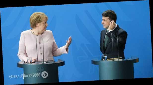 Зеленский привезет на встречу с Меркель аргументы против »Северного потока-2»