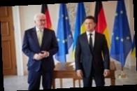 Зеленский провел встречу с президентом Германии