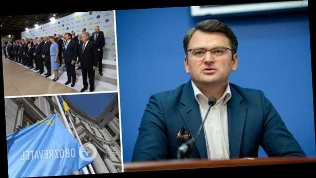 Кулеба заявил, что »Крымская платформа» вызвала большой интерес в мире: в Москве пылает