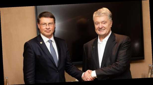 Порошенко обсудил с исполнительным вице-президентом ЕК санкции против РФ и саммит Украина-ЕС