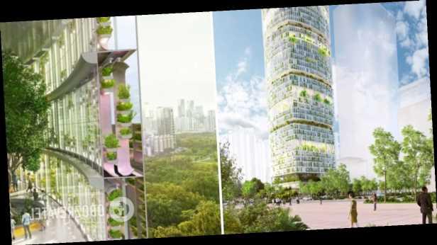 В Китае возведут »зеленый» небоскреб, в котором выращивание растений будет контролировать ИИ