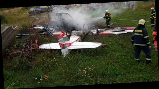 В Словакии разбился самолет, есть погибшие. Фото и все подробности