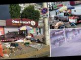 В российском Калининграде автомобиль влетел в уличных торговцев, есть погибший и раненые. Фото и видео
