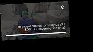 99% умерших от коронавируса не были вакцинированы – ВОЗ