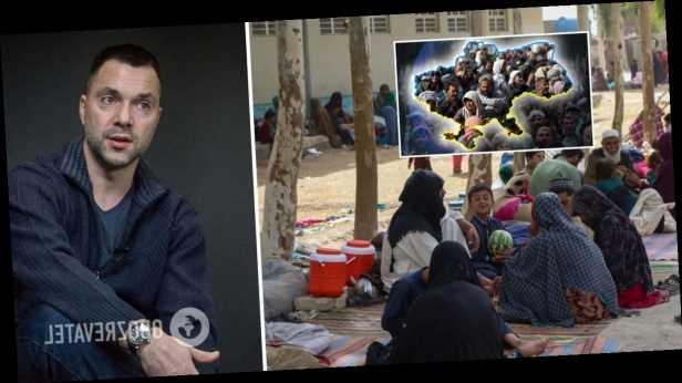 Арестович заявил, что многие афганские беженцы более образованные, чем »средний украинец». Видео
