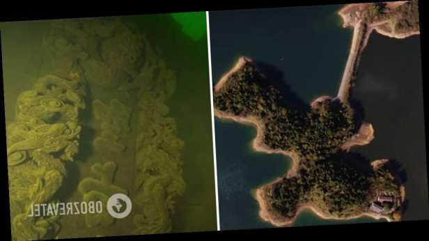 Археологи рассказали о тысячелетней »Атлантиде» на дне озера в Китае. Фото
