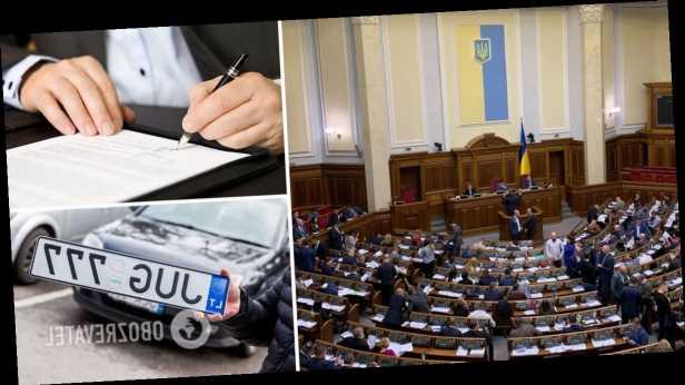 »Евробляхеров» ждет »черный период» уже с ноября: имущество арестуют, всем насчитают огромные штрафы